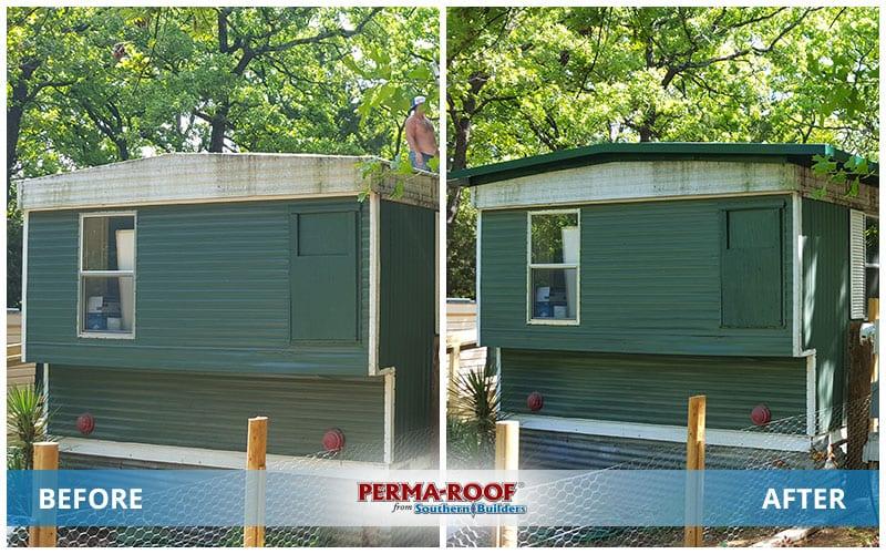 Perma-Roof | Southern Builders on jamestown homes, arkansas homes, elf homes, st. louis homes, little rock homes,